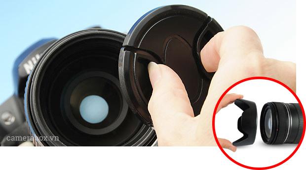 Đậy nắp ống kính máy ảnh