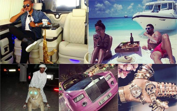 Những chuyến du lịch xa xỉ của các cậu ấm, cô chiêu Dubai